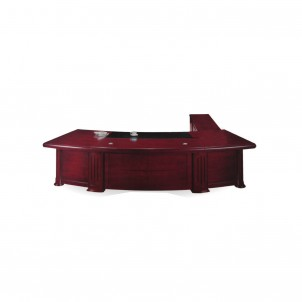 MT-279 Executive Table with Side Cabinet