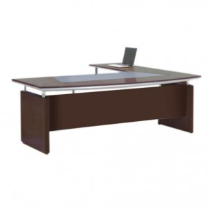 VT-07 Executive Table with Side Table