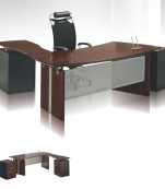 VT-09 Executive Table with Side Table