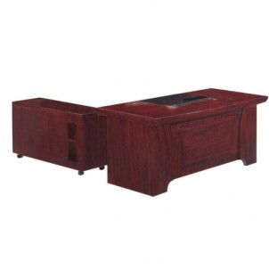 MT-277 Executive Table with Side Cabinet